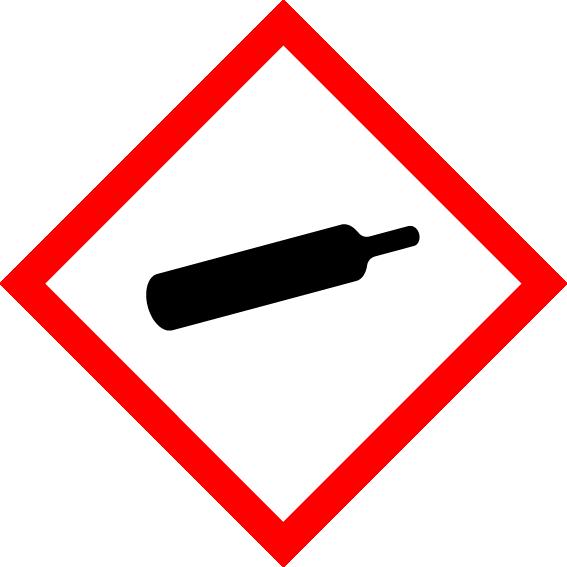 GHS04 - Gasflasche